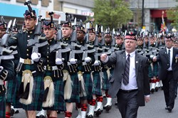Argyll and Sutherland Highlanders Farewell Parade Stirling 2013