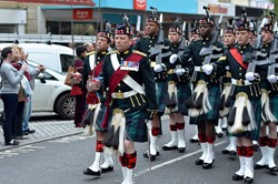 Argyll and Sutherland Highlanders Battalion - Farewell Parade Stirling 2013
