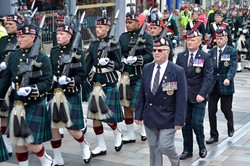 Argyll and Sutherland Highlanders - Farewell Parade, Friars Street, Stirling 2013