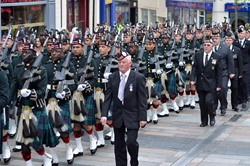 Argyll and Sutherland Highlanders (Royal Regiment of Scotland) - Farewell Parade Stirling 2013