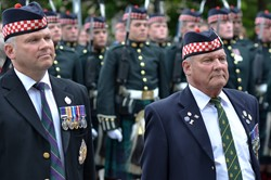 Argyll and Sutherland Highlanders Veterans - Farewell Parade Stirling 2013