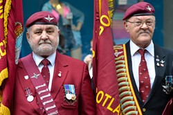 Parachute Regiment Veterans - Stirling Armed Forces Day 2013