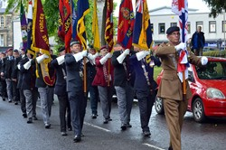 Stirling Armed Forces Day 2013 Parade