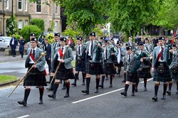 Pipe Band - Armed Forces Day Stirling 2013