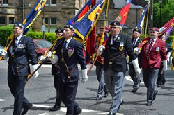 Standard Bearers - Stirling Armed Forces Day 2013