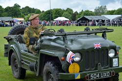 Military Vehicles Lap of Honour - Stirling Armed Forces Day 2013