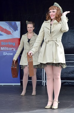 Kennedy Cupcakes Julieann Crannie and Emma Corcoran - Stirling Military Show 2013