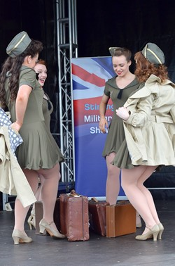 Kennedy Cupcakes - Stirling Military Show 2013