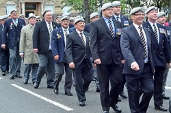 RSDG Veterans - Armed Forces Day Glasgow 2013