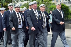 Royal Scots Dragoon Guards Veterans - March on Armed Forces Day 2013 Glasgow