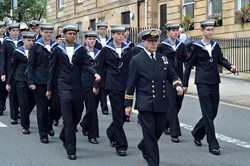 Sea Cadets - Armed Forces Day Glasgow 2013