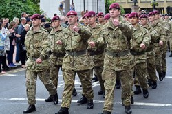 Parachute Regiment - Glasgow Armed Forces Day 2013
