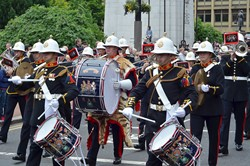 Royal Marines Band Scotland on Parade - Glasgow AFD 2013