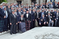 Royal Scots Dragoon Guards Veterans - George Square, Glasgow 2013