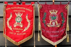 Royal Scots Dragoon Guards Association Standards