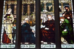 House of Zaccharus - Stained Glass Window, Church of the Holy Rude, Stirling