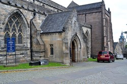 South side of the Church of the Holy Rude, Stirling