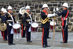 The Royal Marines Band Scotland in Glasgow 2013