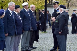 Captain Chris Smith & Veterans at Seafarers' Service - Glasgow Cathedral 2013
