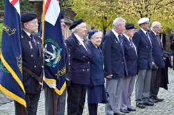 Veterans on Parade - Seafarers' Service Glasgow 2013