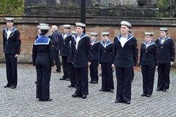 Sea Cadets - Seafarers' Service Glasgow Cathedral 2013