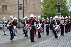 The Royal Marines Band Scotland - Glasgow Cathedral Precinct 2013