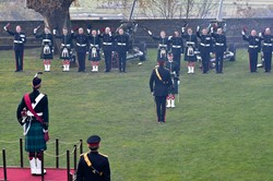 Three Cheers for Prince Charles - 21 Gun Salute at Stirling Castle