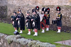 Band - 21 Gun Salute at Stirling Castle