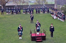 21 Gun Salute at Stirling Castle - Birthday of Prince Charles