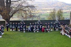 21 Gun Salute at Stirling Castle -In Honour of Prince Charles