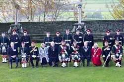 21 Gun Salute at Stirling Castle - Group Photograph