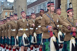 Royal Highland Fusiliers (2 Scots) Homecoming Parade Glasgow