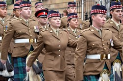 Royal Highland Fusiliers Homecoming Glasgow 2013