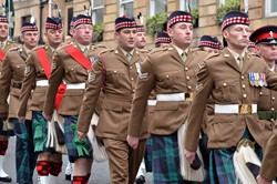 2nd Battalion The Royal Regiment of Scotland - Parade Glasgow 2013