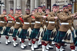Royal Highland Fusiliers Homecoming Parade Glasgow 2013