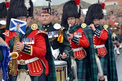 Band of the Royal Regiment of Scotland and 1 Scots Pipes and Drums - Prestonpans, Edinburgh