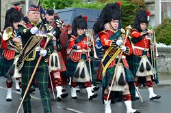 Band of the Royal Regiment of Scotland and 1 Scots Pipes and Drums - Parade in Prestonpans, Edinburgh