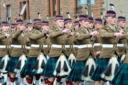 Royal Scots Borderers (1 Scots) - Prestonpans Farwell Parade