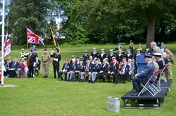 Flag Raising Ceremony - Armed Forces Day East Renfrewshire (Rouken Glen)