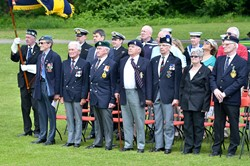Veterans at Armed Forces Day East Renfrewshire 2014