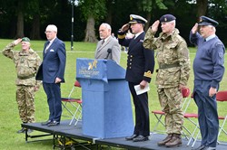 Flag Raising on Armed Forces Day East Renfrewshire (Rouken Glen)
