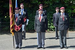Parachute Veterans - Armed Forces Day 2014 East Renfrewshire
