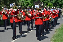 The Band of The King' Division - Armed Forces Day 2014 East Renfrewshire