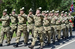 2 Scots Royal Highland Fusiliers - Armed Forces Day 2014 East Renfrewshire