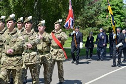 2 Scots + Veterans - Armed Forces Day 2014 East Renfrewshire