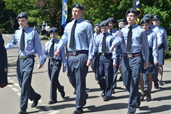 ATC Cadets - Armed Forces Day 2014 East Renfrewshire
