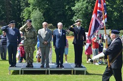 Colours - Armed Forces Day 2014 East Renfrewshire