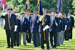 Veterans - Armed Forces Day Rouken Glen Park 2014