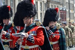 Band of the Royal Regiment of Scotland - Parade Edinburgh 2014