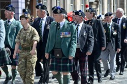 Veterans - Edinburgh Armed Forces Day 2014